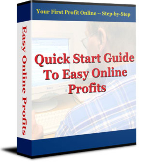 Pay for Quick Start Guide To Easy Online Profits - PLR + 2 BONUSES!