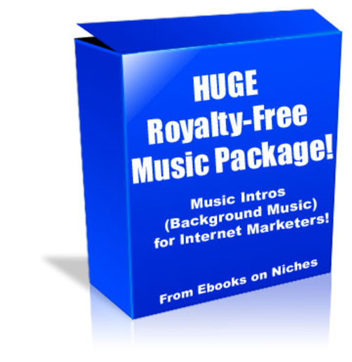 HUGE Royalty-Free Music Package for Internet Marketers!