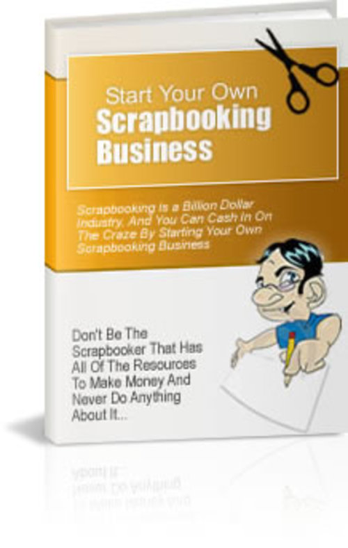 Pay for Scrap Booking - with Private Label Rights+2 Mystery BONUSES!