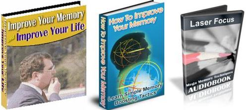 Pay for How To Improve Your Memory Pack - with 2 Mystery BONUSES!