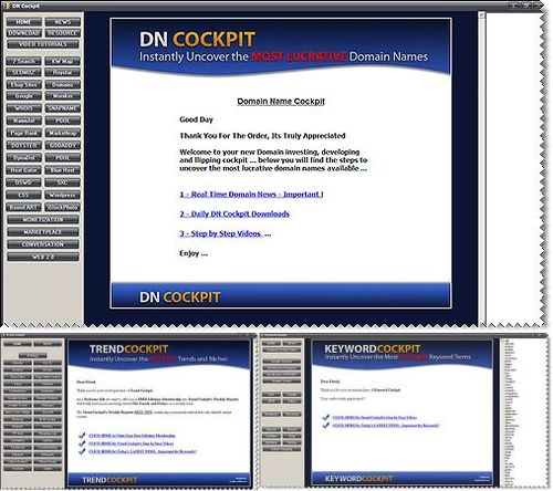 DN (Domain Name) Cockpit - with MRR + 2 Mystery BONUSES!