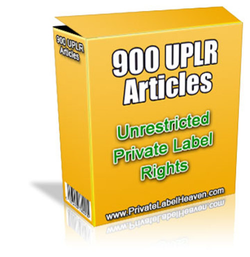 Pay for 900 Unrestricted PLR Articles on 37 Topics - with 2 BONUSES!