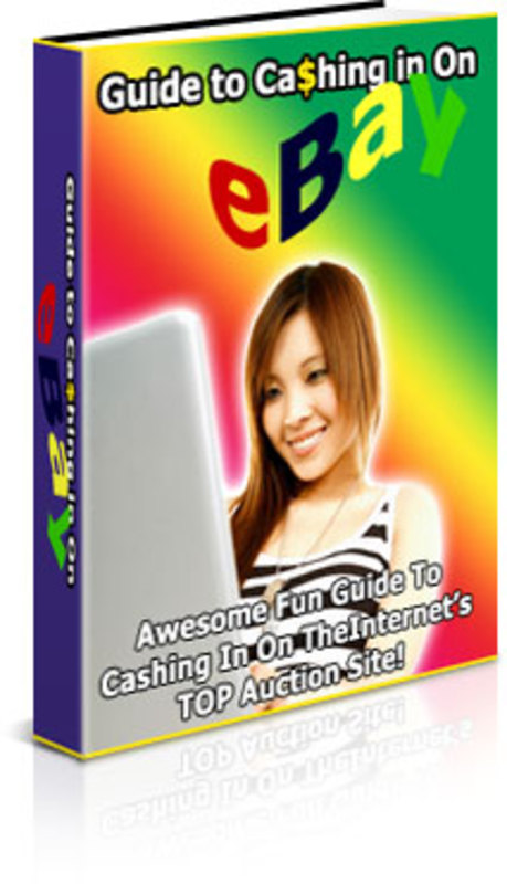 Pay for Guide to Cashing in on eBay - with PLR + 2 Mystery BONUSES!