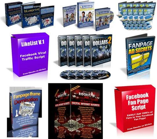 Pay for Facebook Fan Page Traffic Secrets Pack +2 Mystery BONUSES