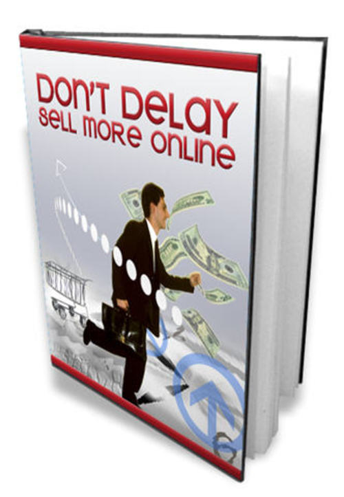 Pay for Don´t Delay: Sell More Online - with MRR + 2 Mystery BONUSES