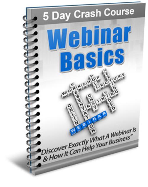 Pay for Webinar Basics Course - with PLR + 2 Mystery BONUSES!