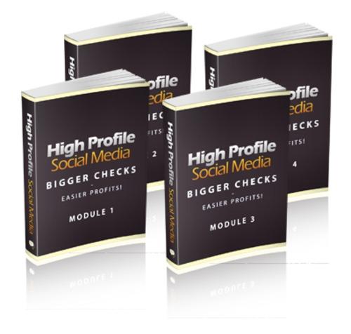 Pay for High Profile Social Media - with PLR + 2 Mystery BONUSES!