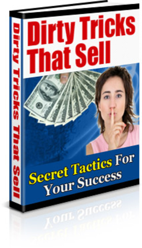 Pay for Dirty Tricks That Sell - with FULL MRR + 2 Mystery BONUSES!
