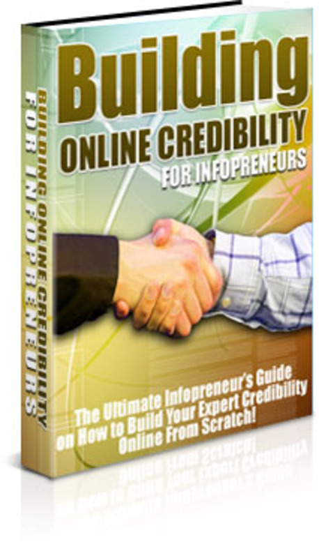 Pay for Building Online Credibility - with PLR + 2 Mystery BONUSES!