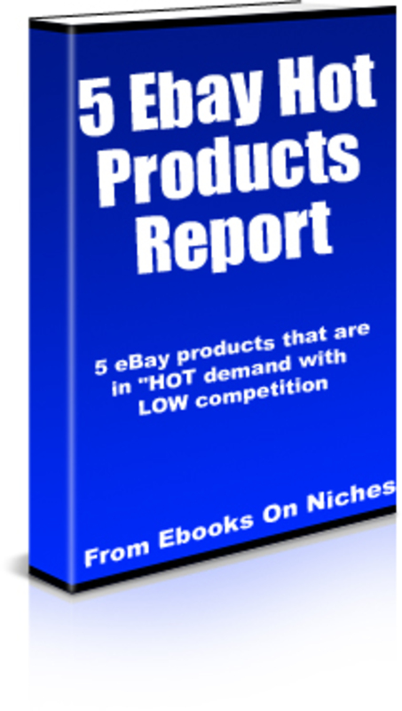 how to find hot product on ebay