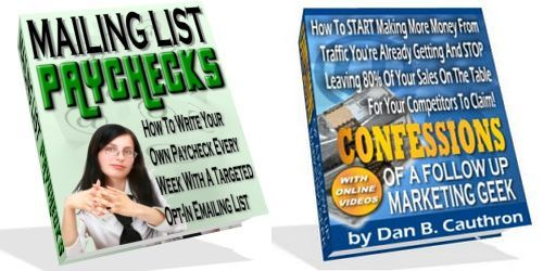 Pay for Confessions Of A Follow Up Marketing Geek - MRR + 2 BONUSES!