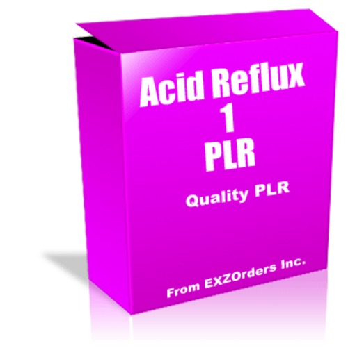 Pay for Acid Reflux 1 PLR  10 Articles on Acid Reflux