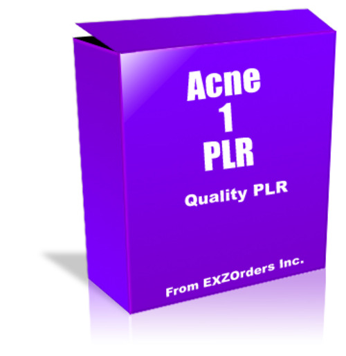 Pay for Acne 1 PLR  10 Articles on Acne