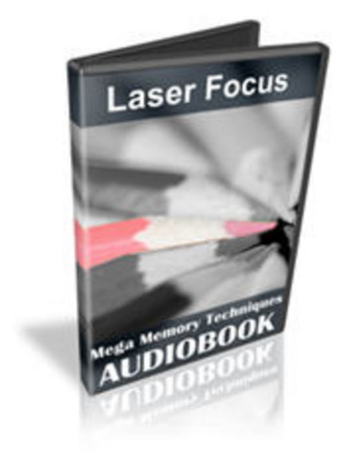 Pay for Laser Focus Mega Memory Techniques with MASTER RESELL RIGHTS