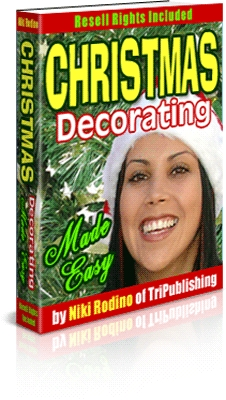 Pay for Christmas Decorating Made Easy.MRR