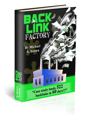 Pay for Backlink Factory ebook with RR