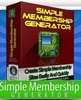 Thumbnail Simple Membership Generator Software