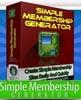 Thumbnail Simple Membership Generator Software