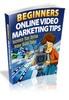 Thumbnail Beg Video Marketing Tips