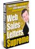 Thumbnail  Web Sales Letters Supreme eBook