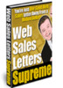 Web Sales Letters Supreme eBook