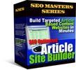 Thumbnail Article Site Builder Software