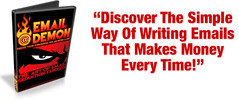 Thumbnail Email Demon -Simple Way Of Writing Profitable Email