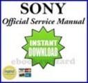 Thumbnail SONY HDR-FX1000 FX1000E SERVICE & REPAIR MANUAL