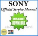 Thumbnail Sony HDR CX11E / HDR CX12 / HDR CX12E Service Manual & Repair Guide