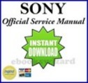 Sony KDL V40A11E LCD TV Service & Repair Manual