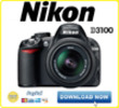 Thumbnail NIKON D3100 DSLR SERVICE MANUAL & REPAIR GUIDE