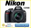Thumbnail NIKON D3100 DSLR Manuale di Servizio