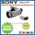 Thumbnail SONY DSC F707 DIGITAL CAMERA SERVICE REPAIR MANUAL DOWNLOAD