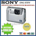 Thumbnail SONY CYBER SHOT DSC-F55V SERVICE & REPAIR MANUAL