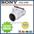Thumbnail SONY DSC-F505 DSC F505 SERVICE MANUAL DOWNLOAD