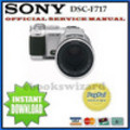 Thumbnail SONY DSC-F717 DSC F717 SERVICE & REPAIR MANUAL DOWNLOAD
