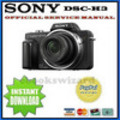 Thumbnail SONY CYBER SHOT DSC-H3 Manual de Servicio