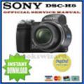Thumbnail SONY CYBER SHOT DSC-H5 SERVICE MANUAL & REPAIR GUIDE