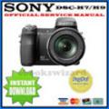 Thumbnail SONY CYBER SHOT DSC-H7 H9 DIGITALKAMERA REPARATURANLEITUNG