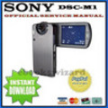 Thumbnail SONY CYBER SHOT DSC-M1 SERVICE & REPAIR MANUAL