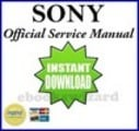 Thumbnail SONY CYBER SHOT DSC-W120 W125 SERVICE MANUAL & REPAIR GUIDE