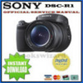 Thumbnail SONY CYBER SHOT DSC-R1 SERVICE & REPAIR MANUAL