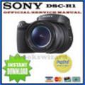 Thumbnail SONY CYBER SHOT DSC-R1 SERVICE & REPAIR MANUAL
