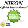 Thumbnail NIKON D300 SERVICE & REPAIR MANUAL + PARTS LIST CATALOG