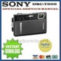 Thumbnail SONY CYBER SHOT DSC-T500 SERVICE & REPAIR MANUAL DOWNLOAD