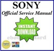 Thumbnail SONY DCR SR210 E /SR220/SR220D/SR220E/HDR SR10/SR10D/SR10E SERVICE & REPAIR MANUAL