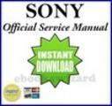Thumbnail SONY DCR HC1000/HC 1000 E SERVICE & REPAIR MANUAL