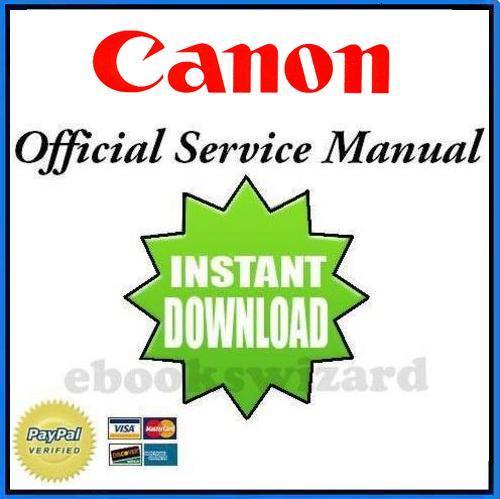 Canon np6512 np6612 np7120 np7130 service & repair manual + handboo.