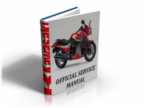 Kawasaki GPz900R (GPz 900 R) ZX900 A1,A2 1984-1985 Workshop Service Manual & Repair Guide Download