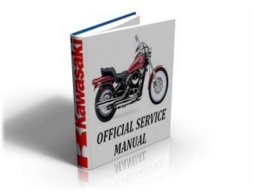 Kawasaki VN800 Vulcan 1996-2004 Workshop Service Manual & Repair Guide ...